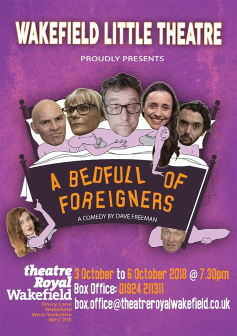 bedfull  foreigners theatre royal wakefield