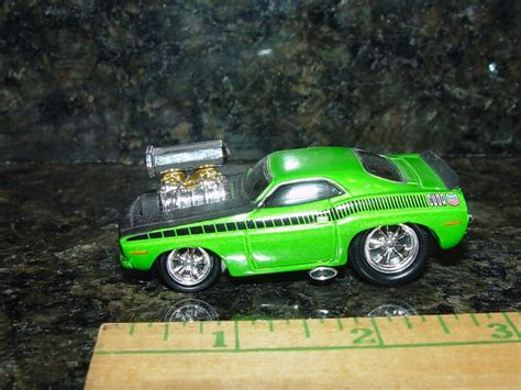 Mm 1970 Plymouth Aar Barracuda Blown Muscle Car Rubber