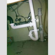 Kitchen Sink Pipe With Hole  Doityourselfcom Community