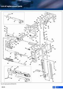 List Of Replacement Parts