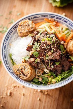 cuisine vietnamienne best 20 salade bo bun ideas on recette bo bun