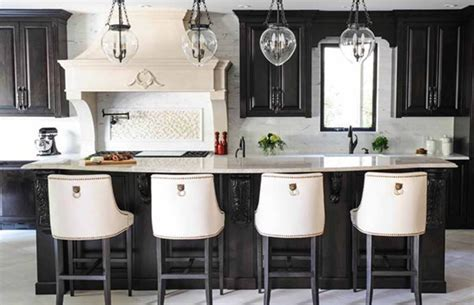 Boo! Black is the new white in kitchens