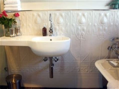 pressed metal feature walls