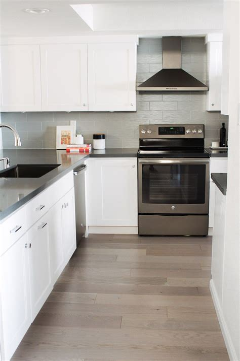 Small Kitchen Remodel By Eggshell Home  White Shaker