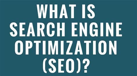 Explain Search Engine by What Is Search Engine Optimization Seo