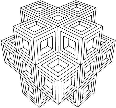 geometric coloring pages  adults az coloring pages