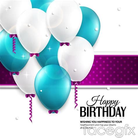 Birthday Card Background 3d by Color Background Balloon Birthday Vector Millions
