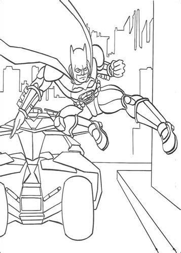 Kleurplaat Batmobiel by N 72 Kleurplaten Batman