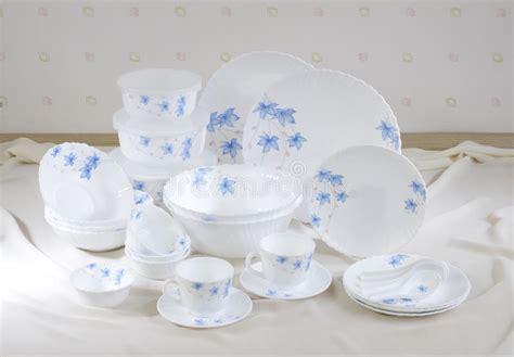 set  nice dishes stock image image  kitchen plate