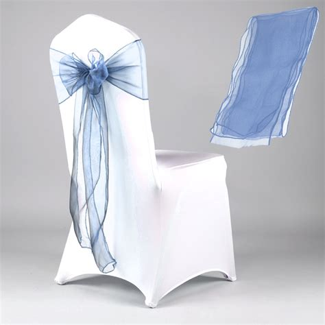 wholesale lots organza chair cover sashes wedding