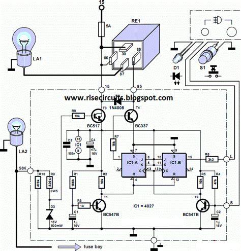 Rear Fog Lamp For Vintage Cars Circuit Diagram Supreem