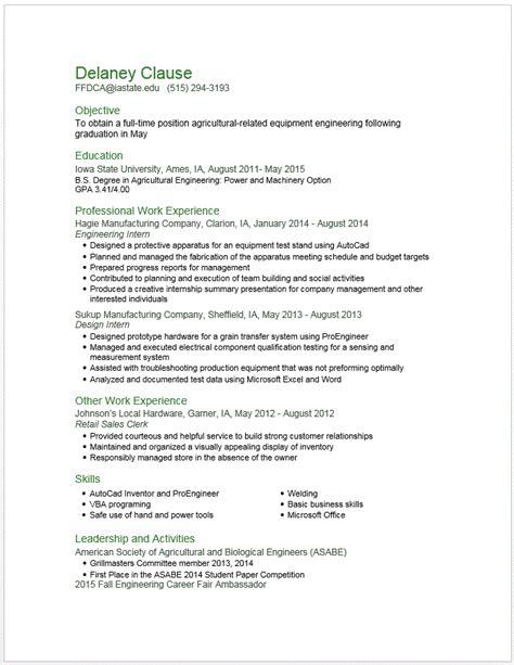 resume sles for college students internship jobs format for cv for engineering student latest resume httpwwwjobresume sle resume post job