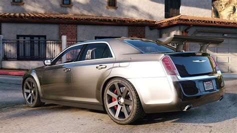 Chrysler 300 Srt8 by 2012 Chrysler 300 Srt8 Add On Replace Tuning Gta5
