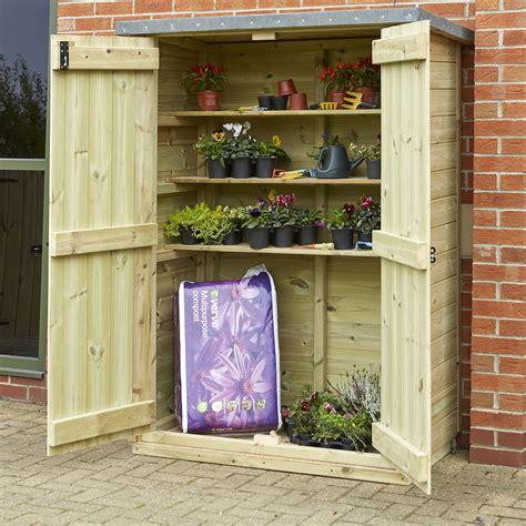 Outdoor Storage Cupboards buy outdoor wooden lockable storage cupboard tts