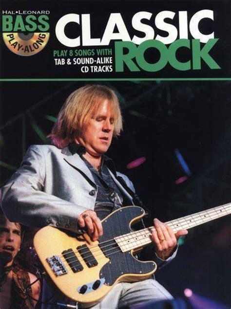 hal leonard bass guitar play along vol 6 classic rock