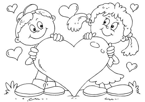 Coloring Valentines by Valentines Coloring Pages