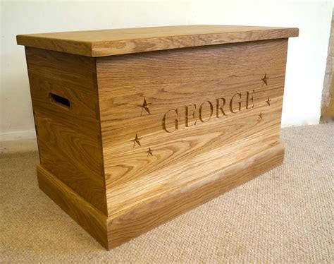 oak toy boxes ao home