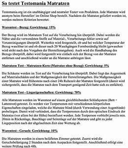 Matratzen Test 2014 Testsieger : matratzen test januar 2017 testsieger im vergleich ansehen ~ Bigdaddyawards.com Haus und Dekorationen
