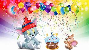 Tom-And-Jerry-first-birthday-cake-Desktop-HD-Wallpaper-for ...