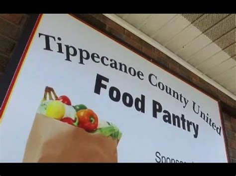 food pantry lafayette indiana tippy food pantry infovideo may2016