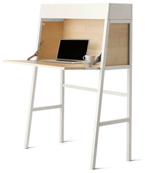 ikea ps 2014 bureau white birch veneer contemporary
