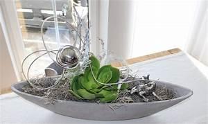 Schalen Deko Ideen : td66 exclusive tischdeko schale in betonoptik nat rlich dekoriert mit einer k nstlichen ~ Whattoseeinmadrid.com Haus und Dekorationen