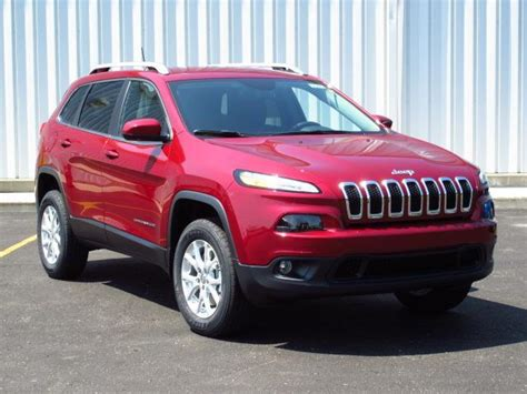 sport jeep 2016 2016 jeep cherokee sport 2 4l suv red color autocar pictures