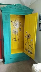 Schrank Bemalen Ideen : no skeletons in this cupboard zuk nftige projekte pinterest m bel bemalte m bel und schrank ~ Orissabook.com Haus und Dekorationen