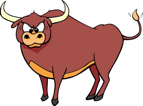 Bull Clipart Angry Crosseyed Bull Clip At Clker Vector Clip