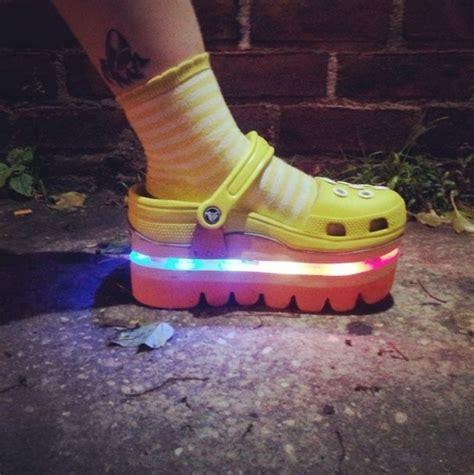 light up crocs 19 best crocs getting creative images on