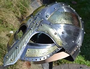 ARNGRIM viking helmet Re-enacting 2 mm Vikings Norse Helm
