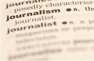 The Merits of T... Journalism Definition