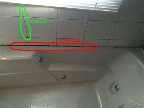 caulk or grout what s the difference shower regrouting