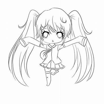 Chibi Coloring Drawing Amazing Characters Anime Netart