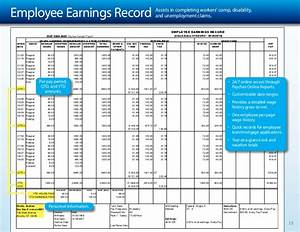 paychex payroll presentation With employee earnings record template