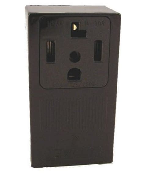 amp  volt surface mounting receptacle