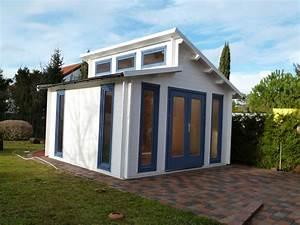 Günstig Gartenhaus Kaufen : pultdach gartenhaus in wei und taubenblau gartenhaus mit pultdach in 2019 gartenhaus ~ Orissabook.com Haus und Dekorationen