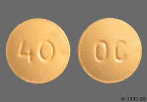 Oxycodone Oral Tablet, Extended Release 40Mg Drug Medication Dosage ... Oxycodone