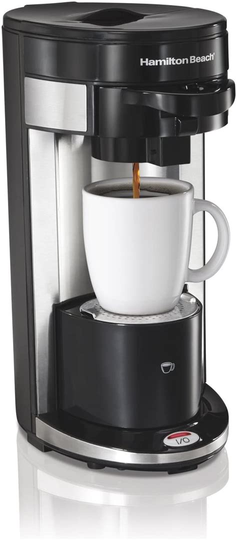 What's the best single cup coffee maker? Hamilton Beach Single Serve Coffee Maker FlexBrew 49999A   Discount Coffee Maker Items