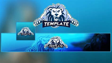 Lion Gaming/clan Mascot Logo & Banner Template