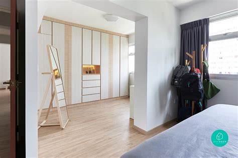 how to fit a walk in wardrobe in your tiny hdb qanvast