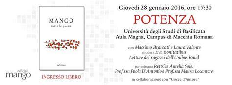 Libreria Ermes Potenza by Poesie E Raccolta Inedita Quot I Gelsi Ignoranti Quot Domani A