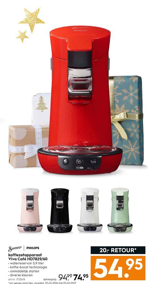 Koffieautomaat Blokker by Koffiezetapparaat Philips Folder Aanbiedingen