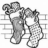 Coloring Christmas Pages Socks Printable Sheet Stocking Stockings Mandala Adult sketch template
