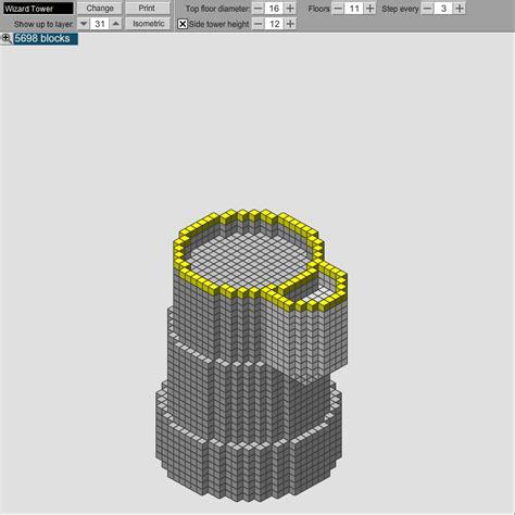 build  minecraft wizard tower