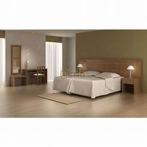 Chambre adulte moderne special hotellerie mobilier bois for Chambre à coucher adulte moderne avec promo matelas simba