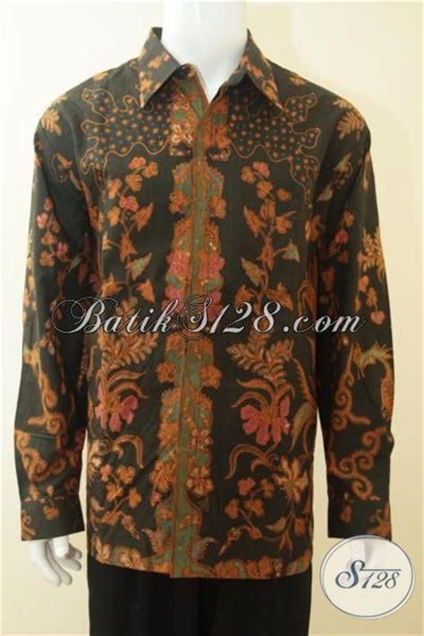 batik hem mewah buatan baju batik untuk lelaki badan