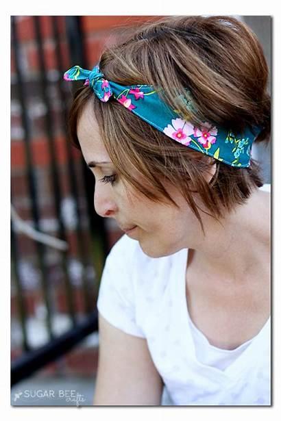 Headband Fabric Knotted Pattern Sewing Headbands Knot