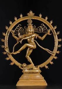 "SOLD Bronze Dancing Nataraja Statue 24.5"" (#73b29): Hindu ..."
