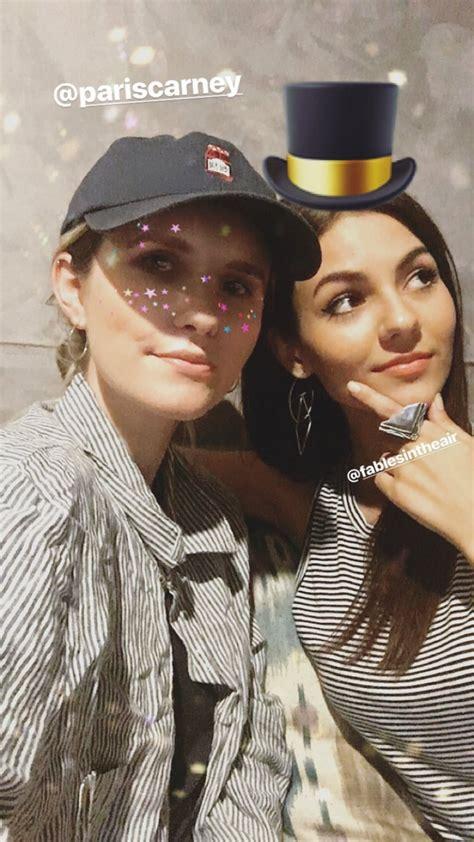 Victoria Justice - Social Media Images 10/11/2017 • CelebMafia